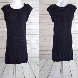 Theory Silasi Woodstock wool cashmere button dress